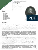 Guillaume-Thomas Raynal - Wikipedia, La Enciclopedia Libre