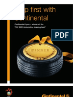 Continental Car Tyres - Best in Braking