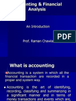 Accounting & Financial Analysis