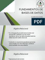Algebra Relacional(Bsd)