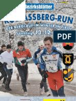Kolsaßberg Run 2009 - Flyer