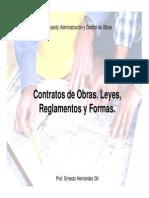 Administracion Contrato