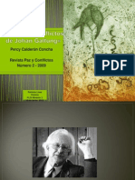 CS-RA. Unidad I Teoria de Conflictos de Johan Galtung
