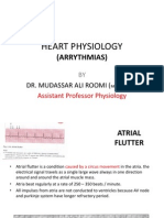 4th Lecture on Arrythmias by Dr. Roomi