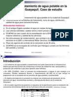 Diapositivas Calidad de Agua Caso Guayaquil