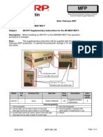 AR-FX7 Supplementary Instructions for the AR-M257-M317.