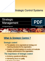designing strategic control system