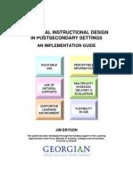 educational design