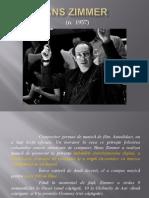 despre compozitorul Hans Zimmer - prezentare powerpoint