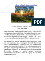 Como Devemos Cultuar a Deus - John MacArthur