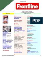 Frontline Vol. 14 __ 1997
