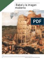 La Torre de Babel y La Imangen Del Mundo Moderno