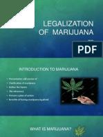 legalization of  marijuana powerpoint