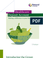 Group Healthcare Deposit Account