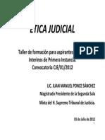 2. Ética Judicial