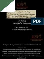 Workshop Paleografia Avançada - Primeira Parte