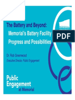 Battery Consultation Presentation