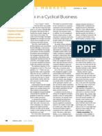 Managing Risk in Cycricalbusiness JD ULI Risk