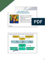 Session5&6.Risk & Return(2) FFL SMU