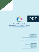 Citizens for Browards Children Information Kit