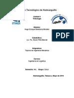 Evidencia Topicos de Ing Mecanica