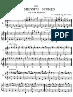 Czerny 100 Estudios Progresivos Op. 139 1-49