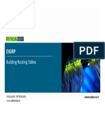 ROUTE 004 - EIGRP Building Routing Tables