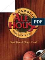 Carolina Ale House Menu - North Carolina