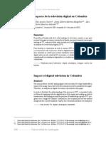 Impacto de La Televisión Digital en Colombia