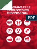 Programa Europes Abril 214