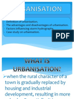 Storm Hydrograph (Urbanisation)