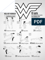 Wonder Woman Workout