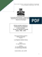 Actores Sociales Colectivos y Construcción de Ciudadanía a Nivel Municipal - El Caso de Zapotlán El Grande, Jalisco 1982-2003