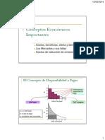 Conceptos Económicos Importantes (2014)