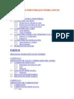 Procesos Industriales Inorganicos