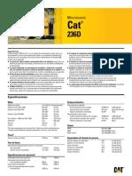 CAT Minicargador Ruedas 236D