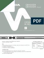 Cb 450 Dxp - Catalogo De Pecas (Pt Br) Motard Moto Honda Custom Manual Taller.pdf