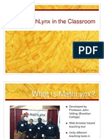 CUNY Math_Using MathLynx in the Classroom_Ki Song