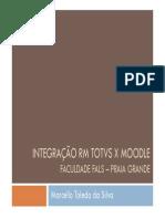 Integração Moodle TOTVS RM