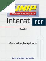 Slide Da Aula b1-UnidadeI