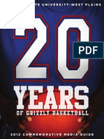 2012-2013 Grizzly Basketball Media Guide