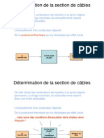 1- Determination de La Section de Cables
