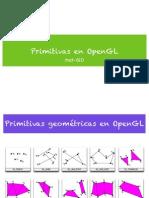 Primitivas OpenGL