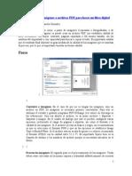 Cómo procesar imágenes o archivos PDF para hacer un libro digital.doc