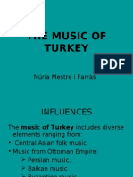 The Music of Turkey Power Point)