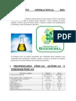 Informe - Biodiesel (Biotecnologia)