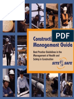 Const Safety Mgmt
