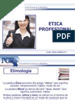 Diapositivas - Etica Profesional