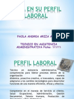 Perfil Laboral-paola Andrea Ariza- Asistenc Adm - Tocaima