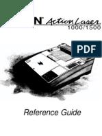 Epson Actionlaser 1500 Manual